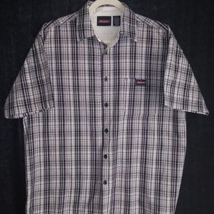 DICKIES LARGE SHORT SLEEVE BUTTON DOWN SHIRT